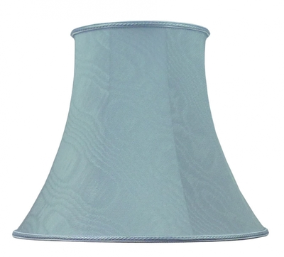 Bowed Empire Lampshade P. Blue Moire