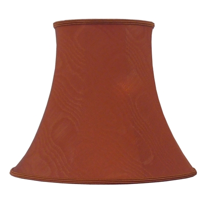 Bowed Empire Lampshade Terracotta Moire