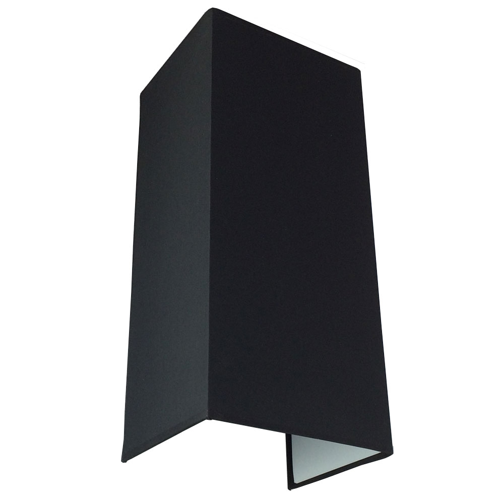 Floating Black Verticle wall Light