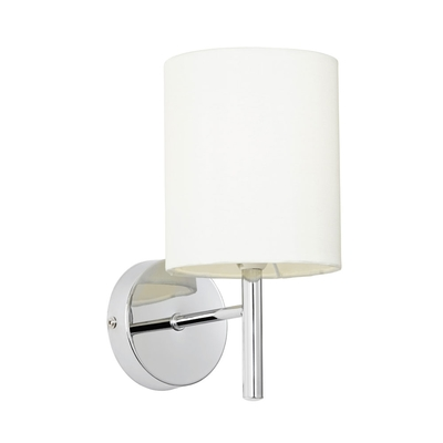 Brio Wall Light with Cream Shade