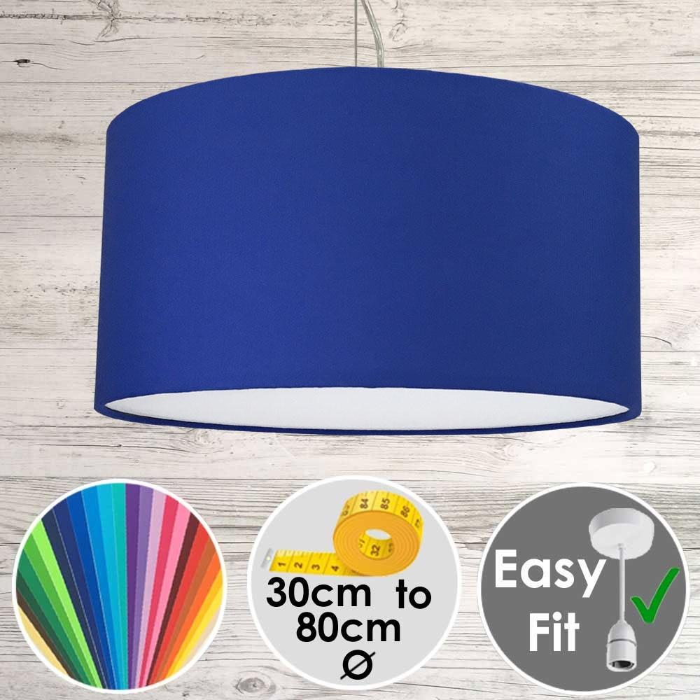 Blue Drum Shade