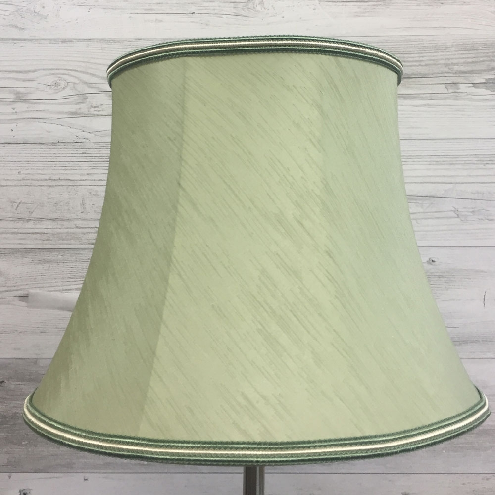 Bowed Drum Standard Lamp Shade