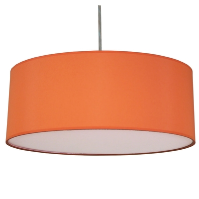 Drum Celing Shade Burnt Orange