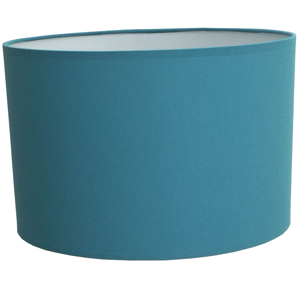 Drum Table Lampshade Cadet Blue