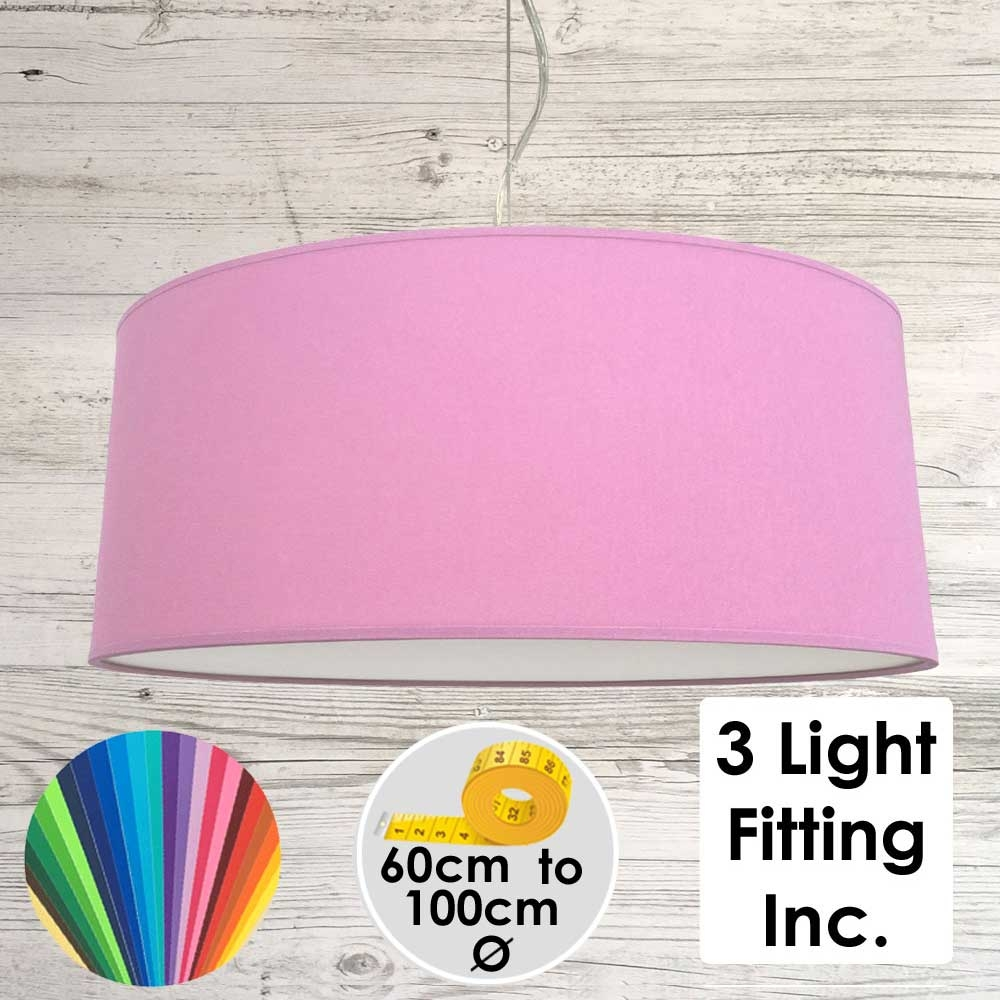 Candy Drum Ceiling Light
