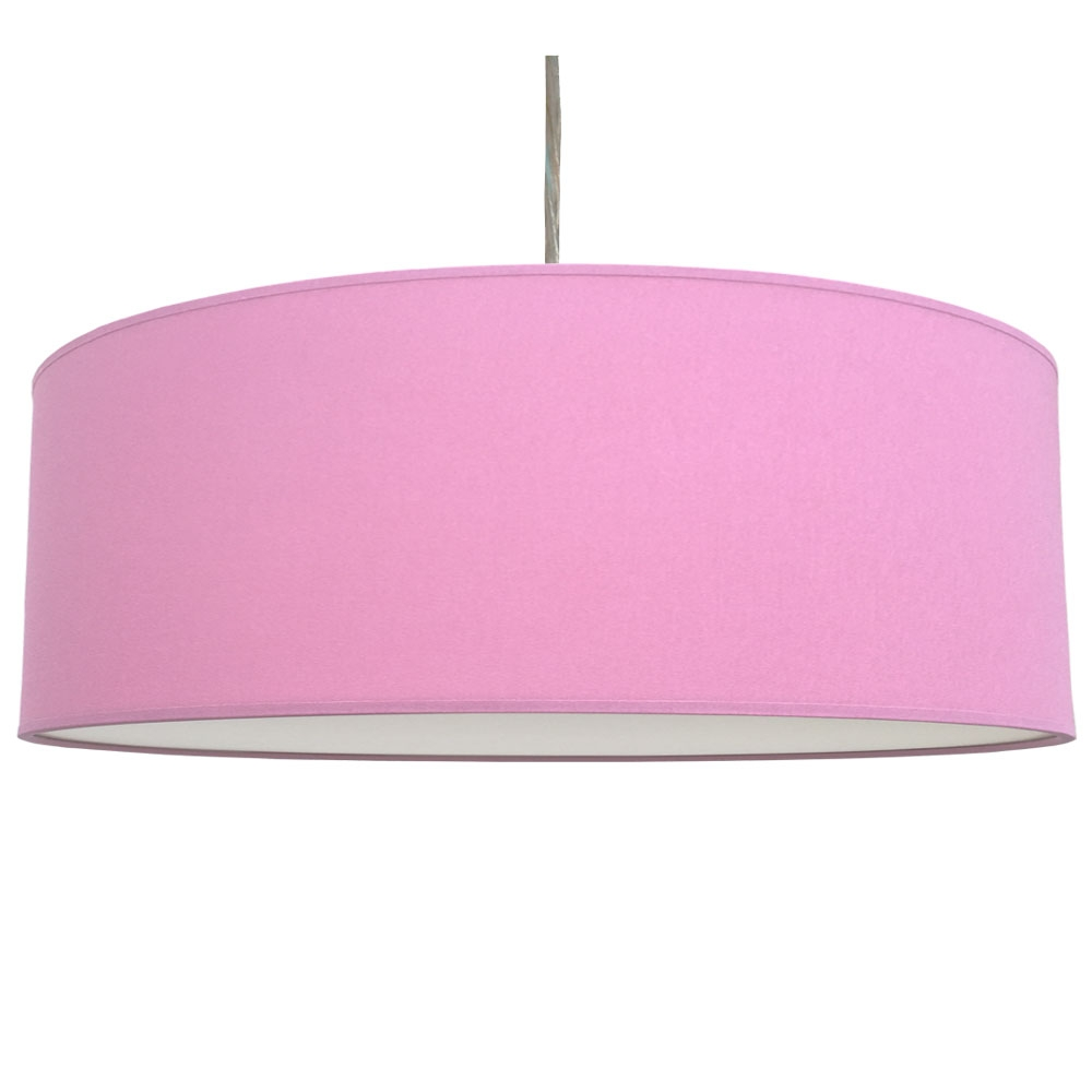 Thin Drum Lampshade Candy Cotton