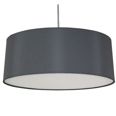 Xl lamp shades 1 of 8 imperial lighting imperial lighting xl drum 3lt charcoal aloadofball Choice Image