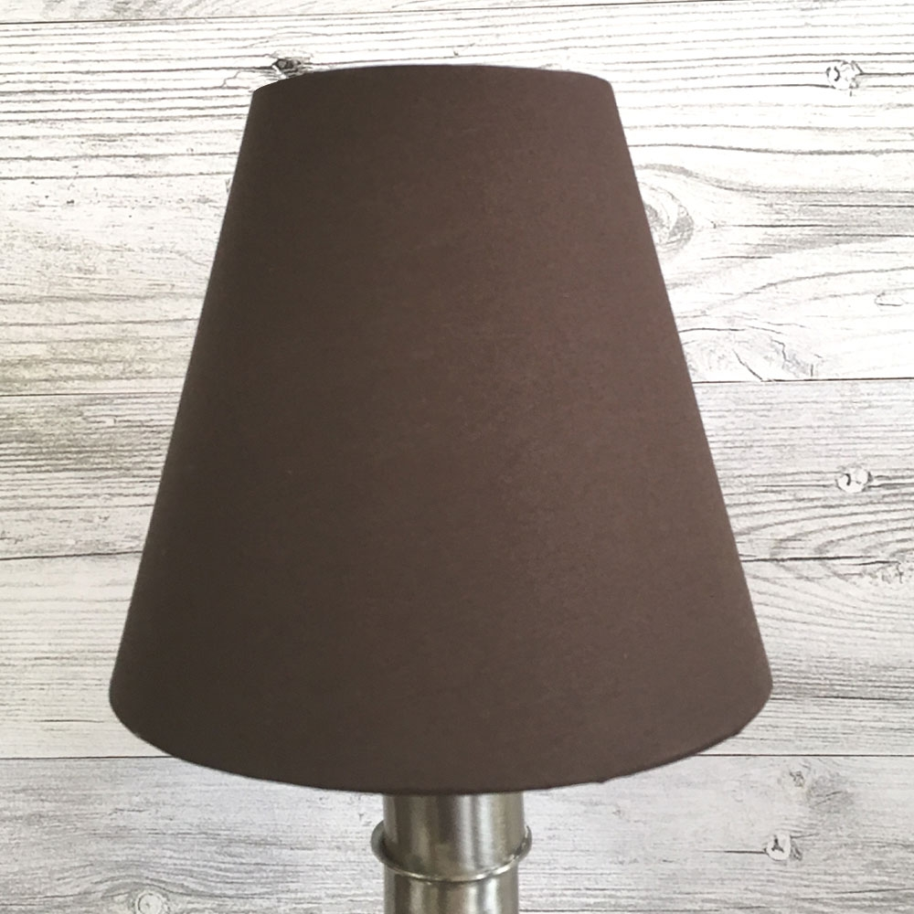 Wilma Candle Shade Chocolate