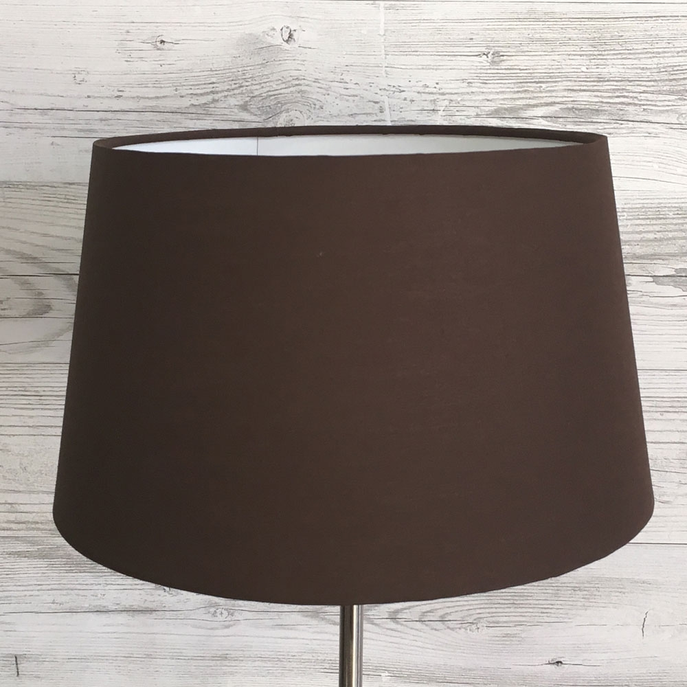 Chocolate French Drum Shade