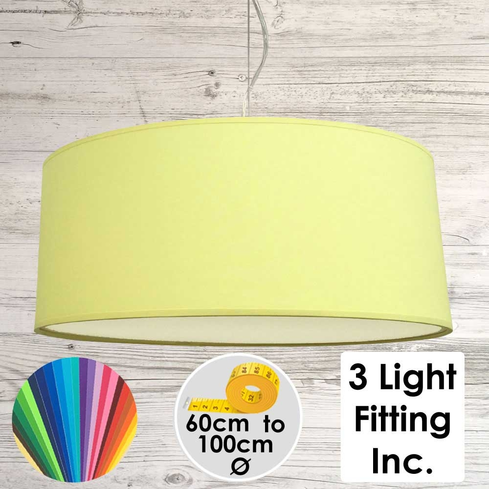 citrus Drum Ceiling Light
