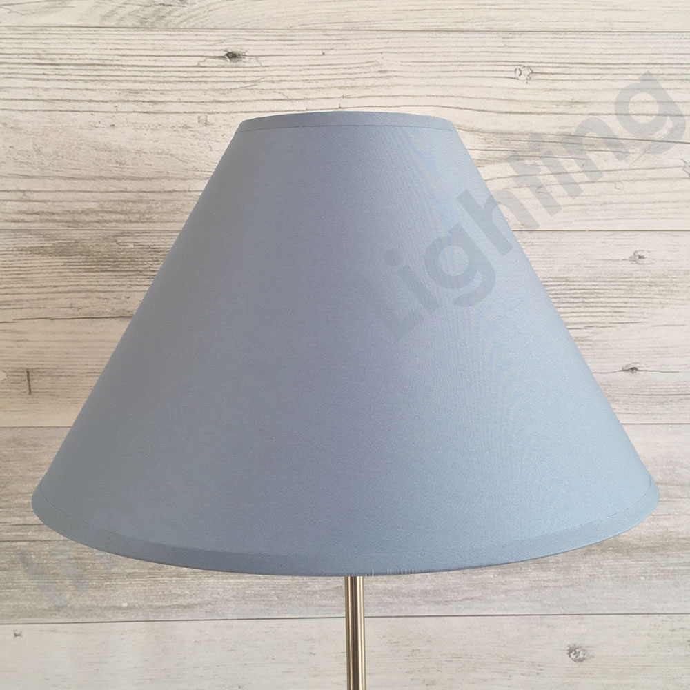 Coolie Lampshade Mid Blue