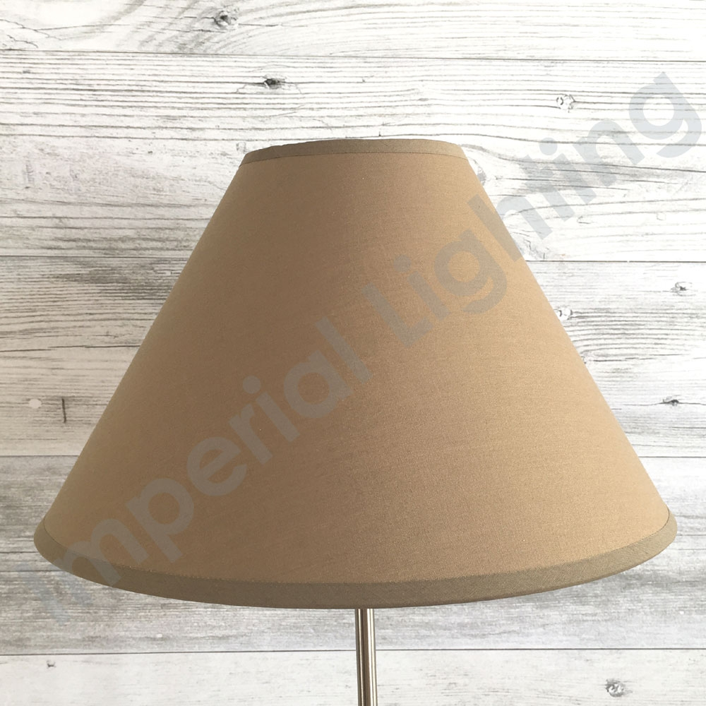 Coolie Lampshade Mocha