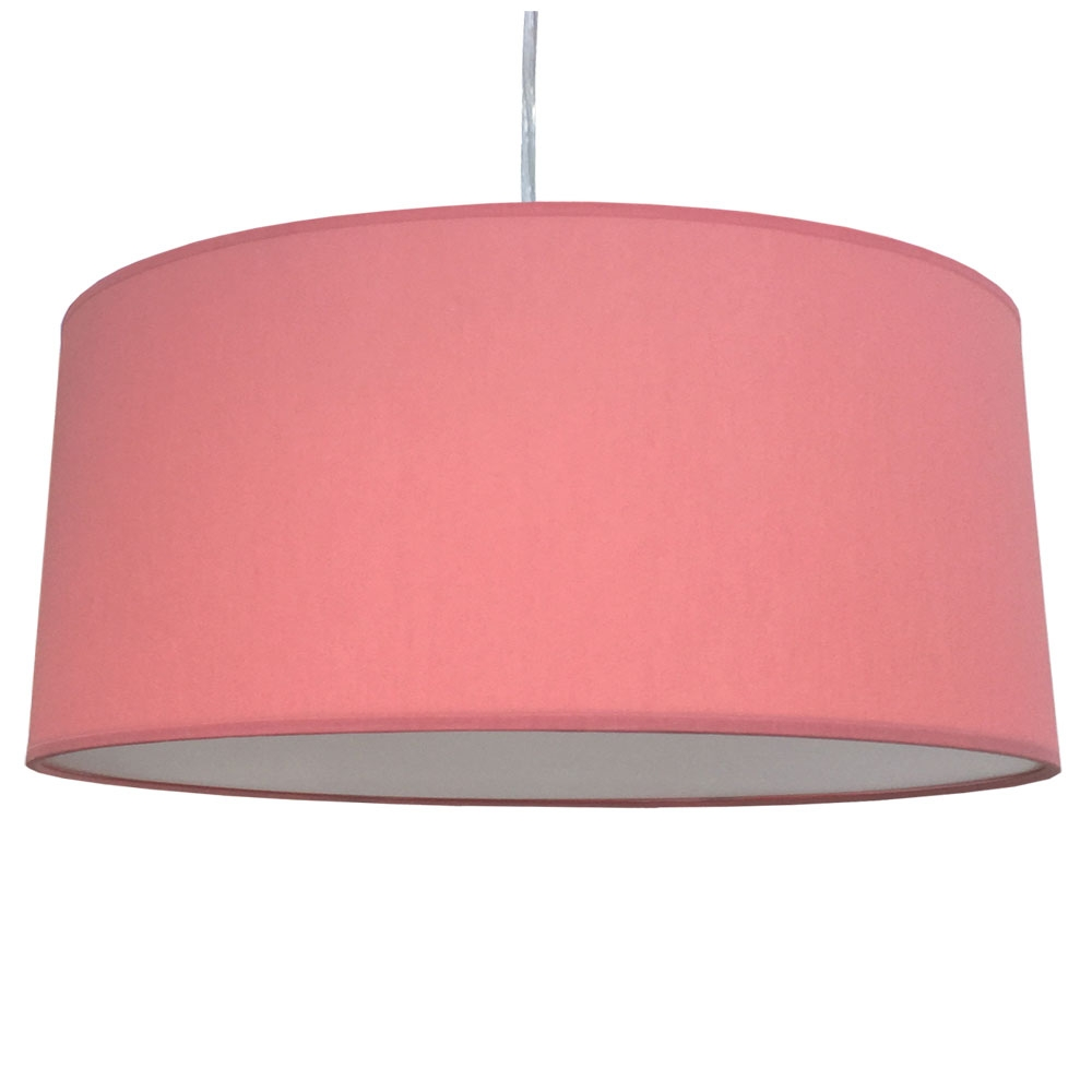 home modern lamp shades xl drum shade and suspension coral. Black Bedroom Furniture Sets. Home Design Ideas