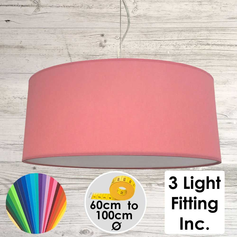 Coral Drum Ceiling Light
