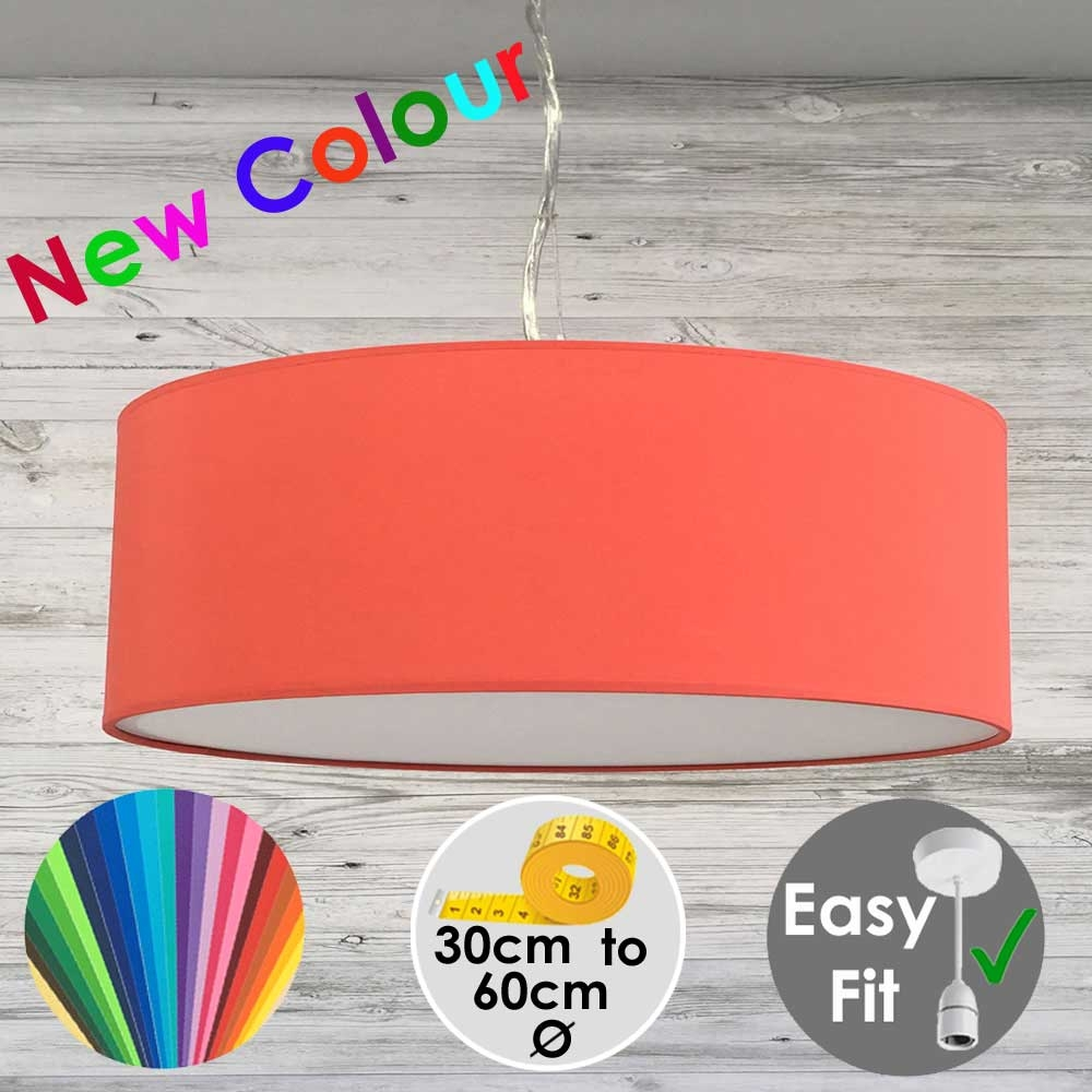 Coral Red Drum Light Shade
