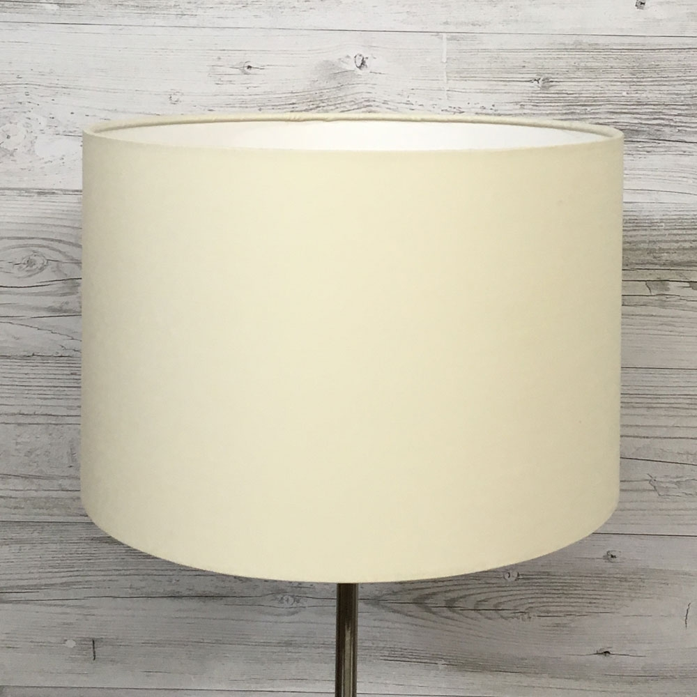 Cream Drum Table Lampshade