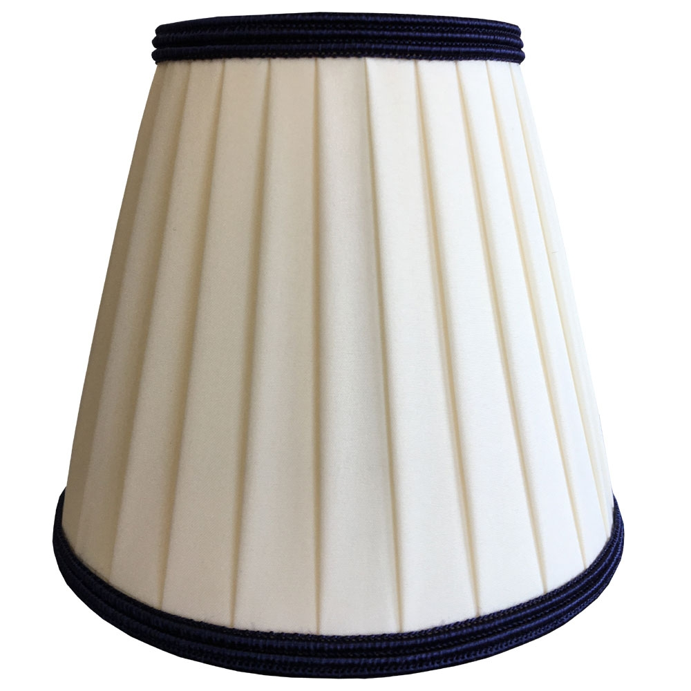 Ribbon Candle Cream Amp Navy Imperial Lighting