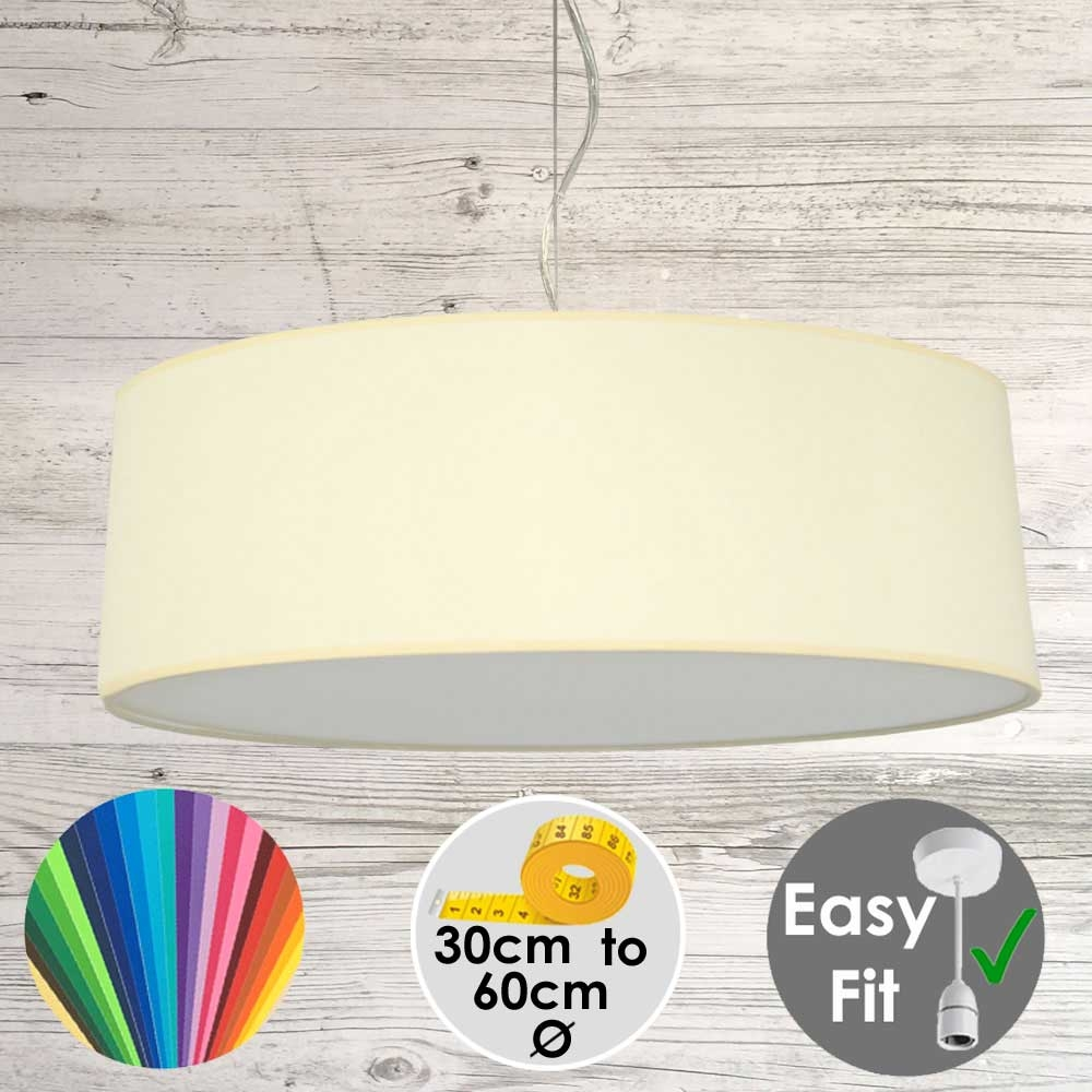Cream Drum Light Shade