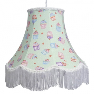 Cotton Lampshade Cupcake