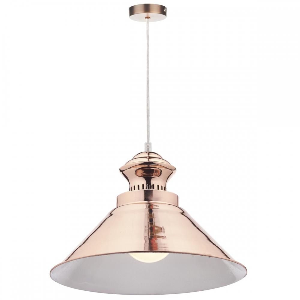 Dauphine Copper Pendant