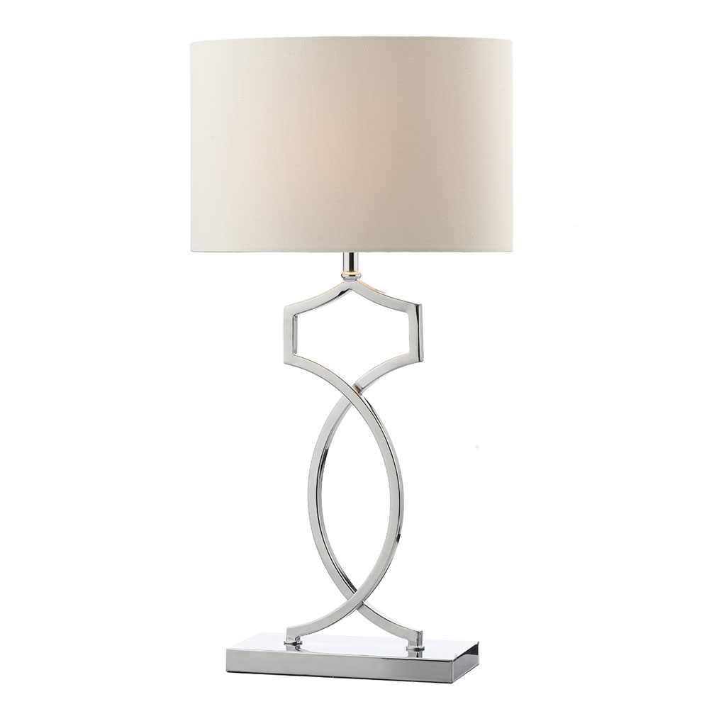 Donovan Table Lamp Polished Chrome