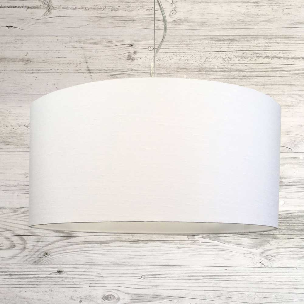 Drum White Pendant