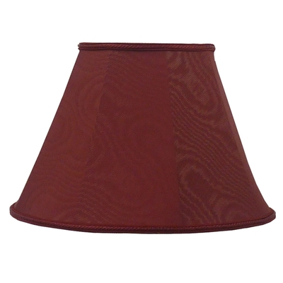 Empire Lampshade Burgundy Moire