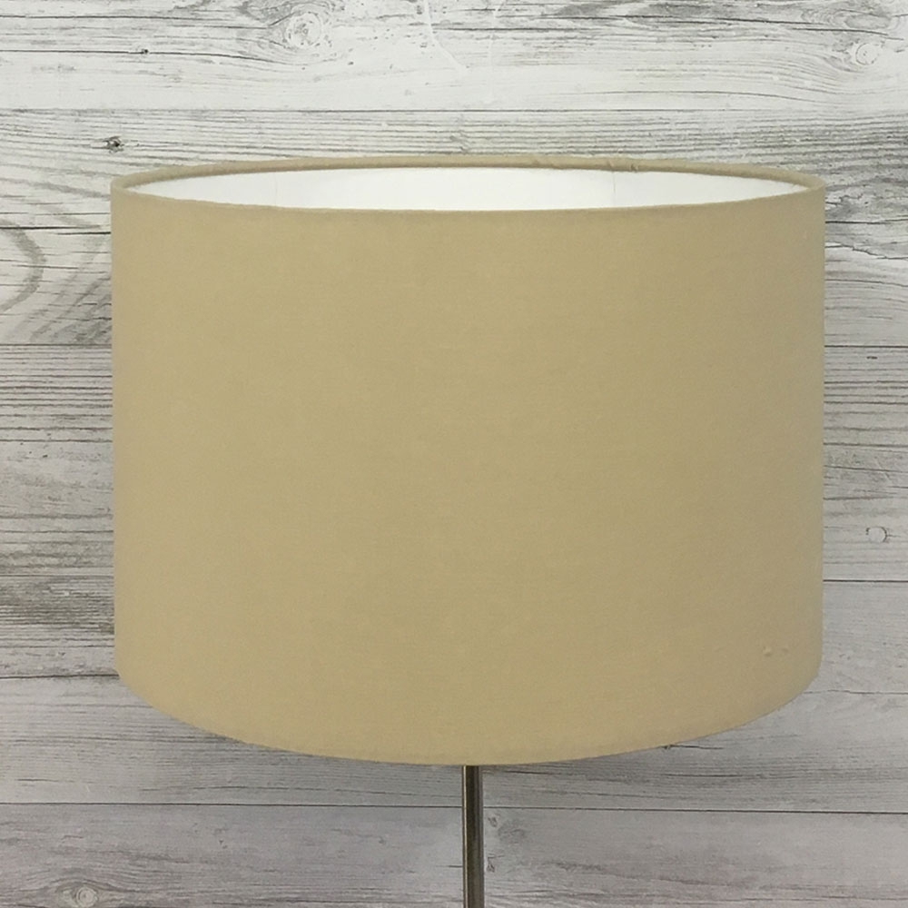 Taupe Drum Lampshade