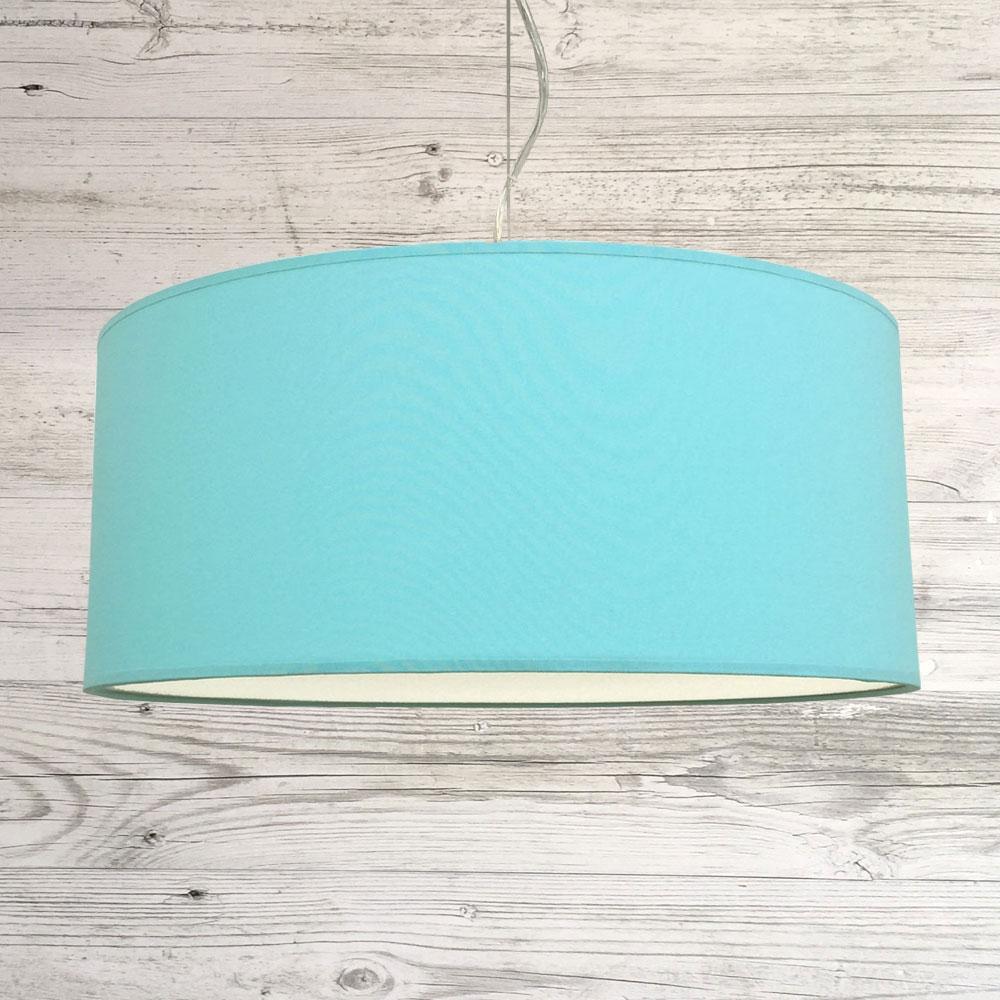 Drum Ceiling Shade Aqua