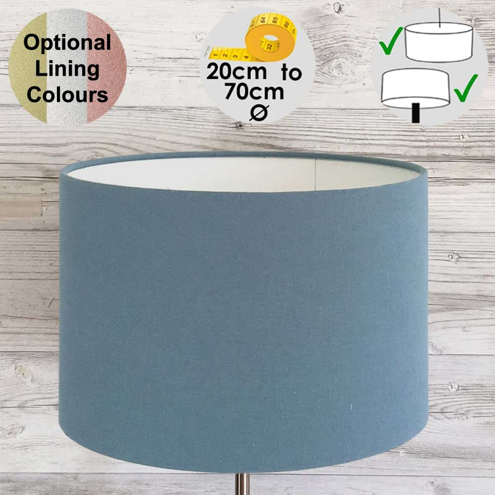 Aura Drum Table Lampshade Colonial