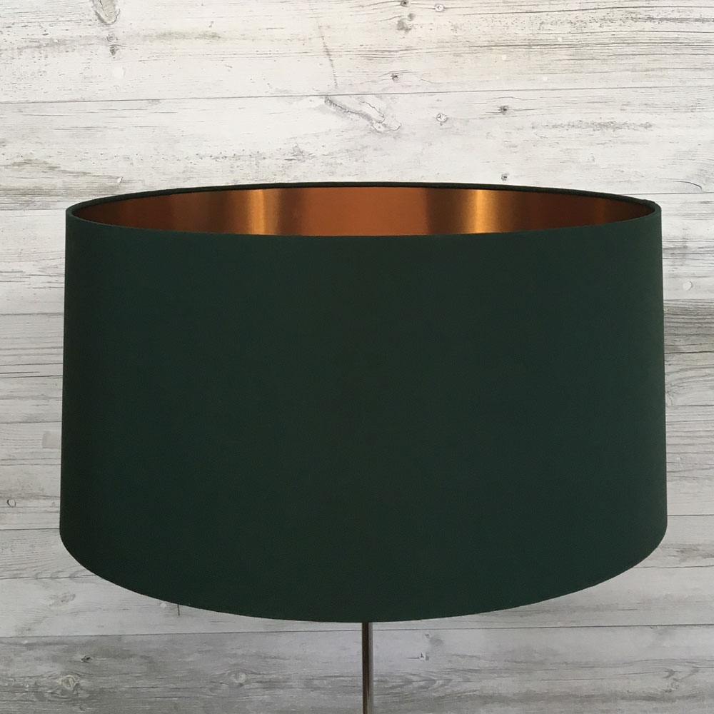 Eclipse Lampshade Green/Copper