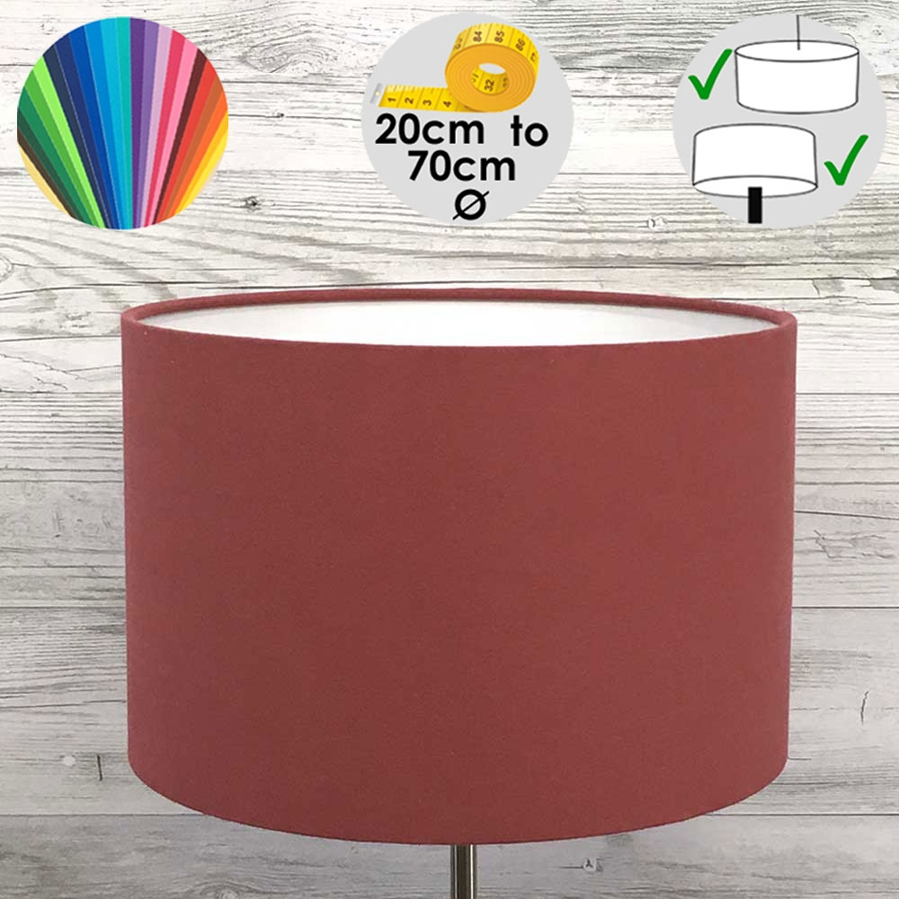 Aura Drum Table Lamp Shade Berry