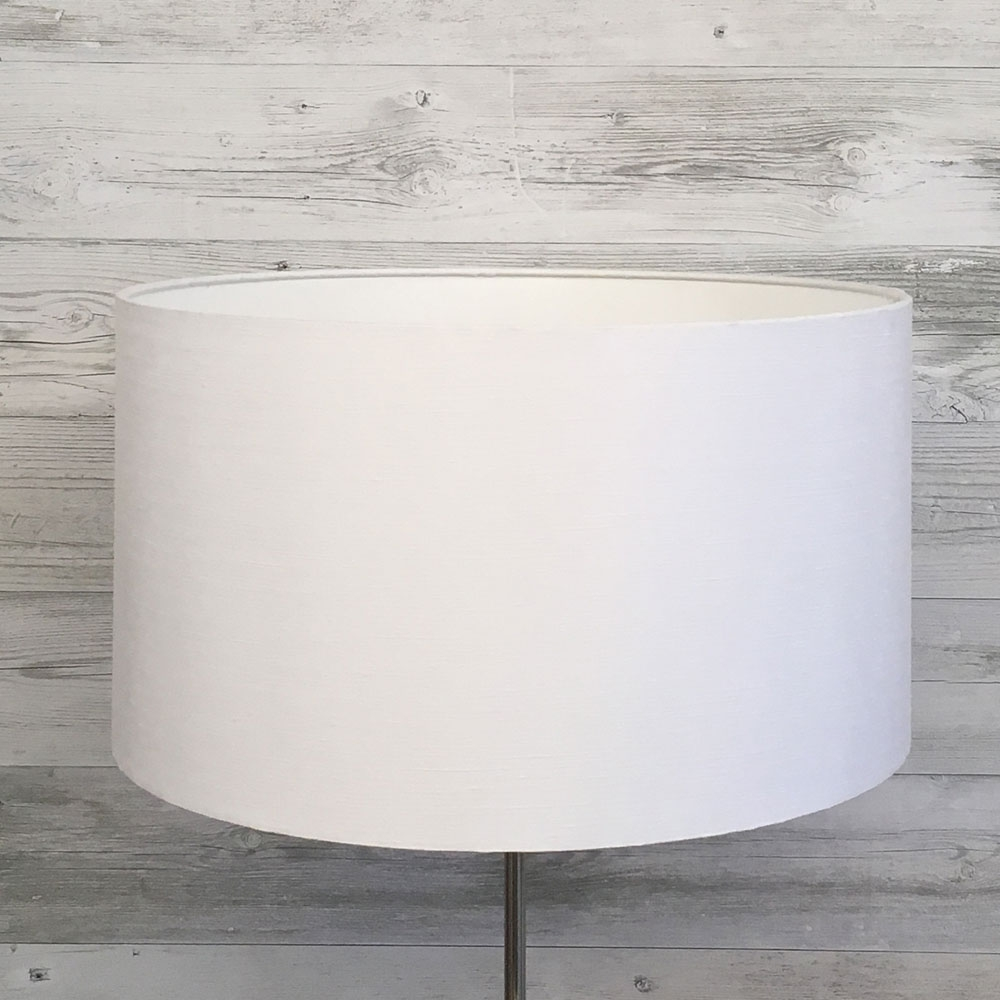 Drum White Table Lampshade
