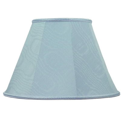 Empire Lampshade Pale Blue Moire