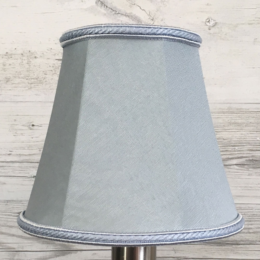 Empire Candle Lampshade Blue