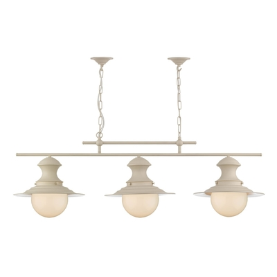 Station Bar Pendant Cream
