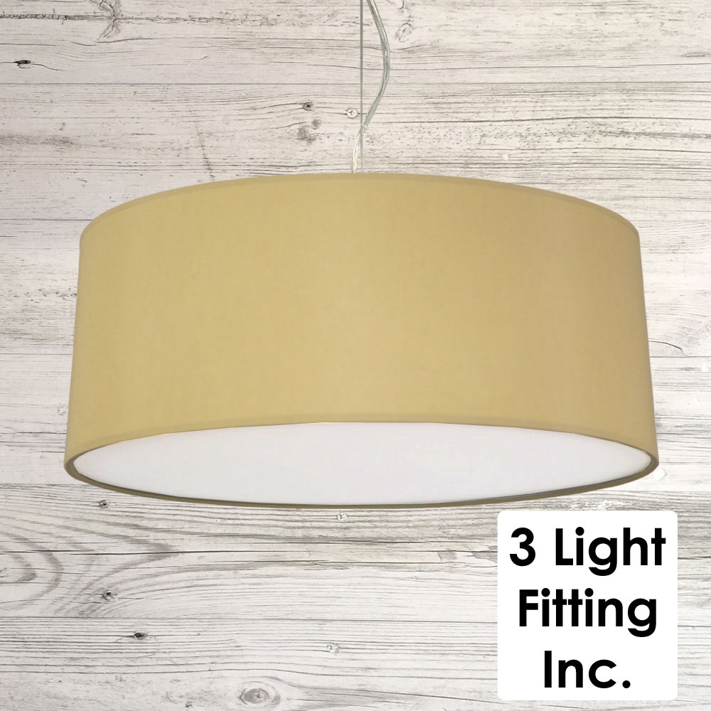 Toast Drum Ceiling Light