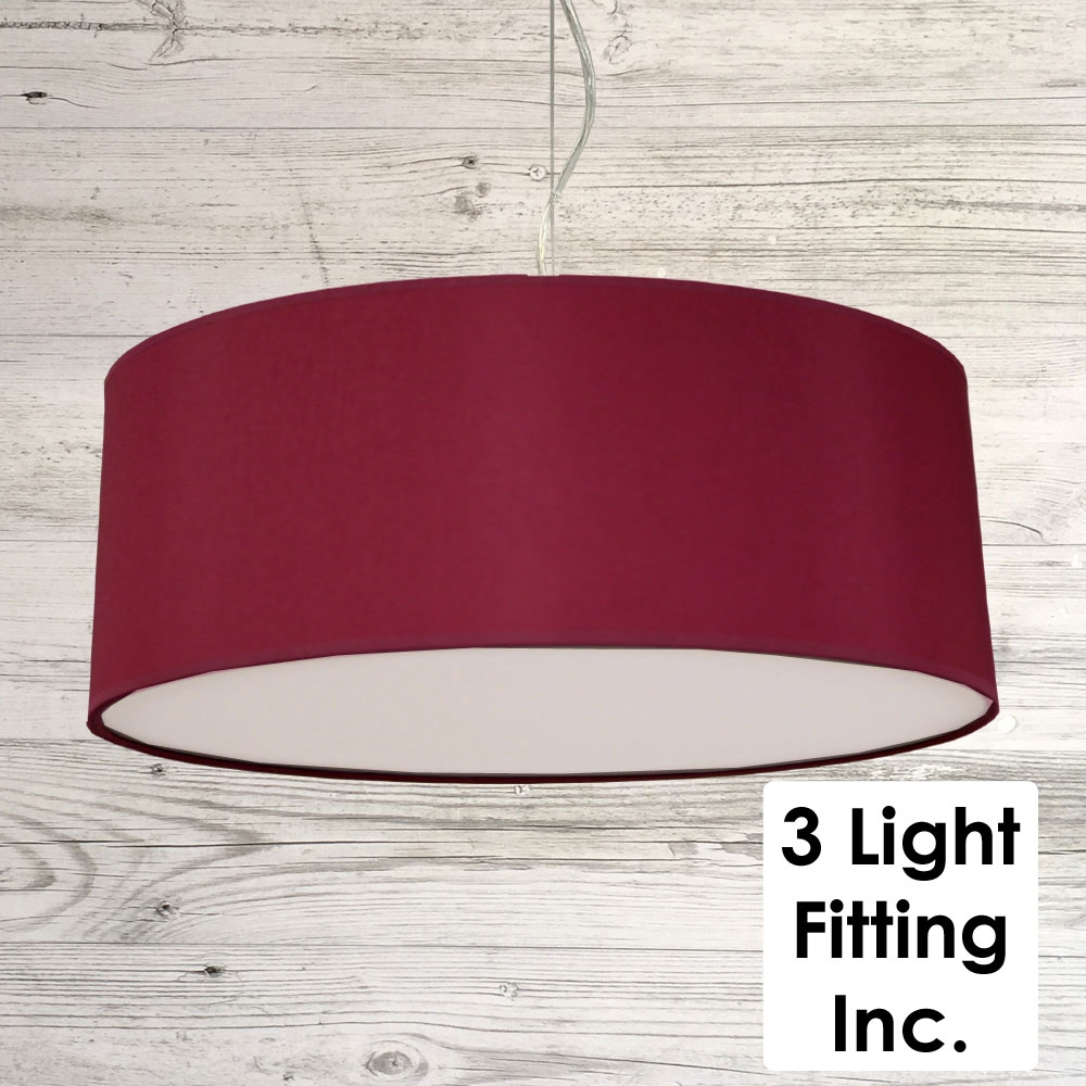Wine Drum Ceiling Light