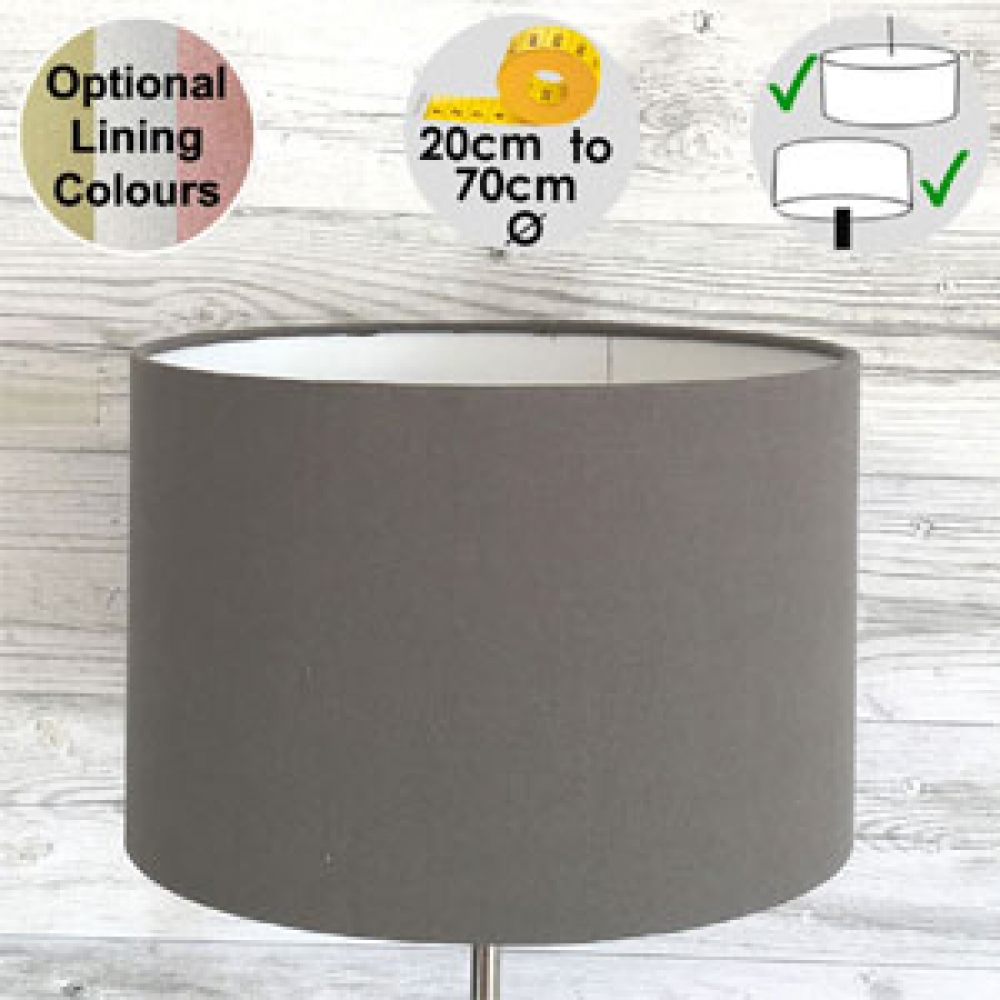 Aura Drum Table Lampshade Earth