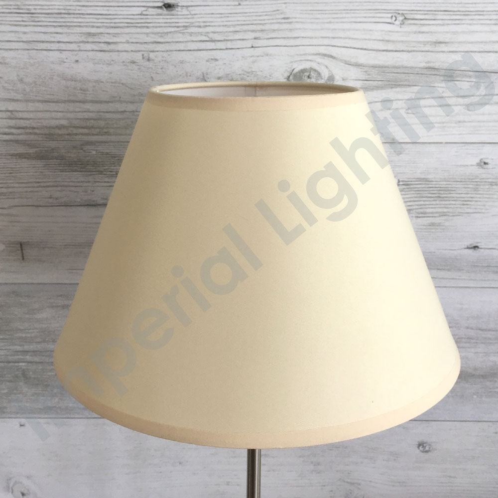 Empire Table Lampshade in Cream
