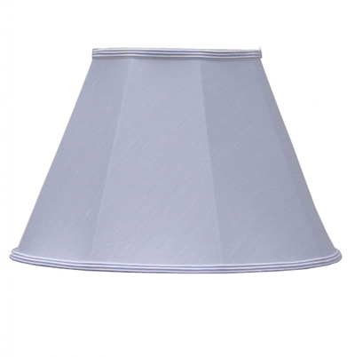 Empire lampshade white dupion