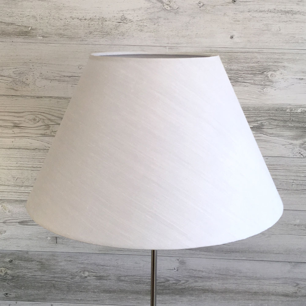 White Empire Lampshade