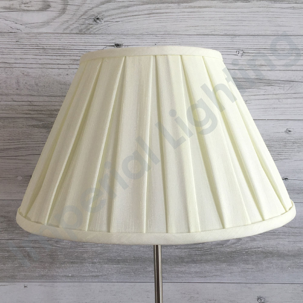 Enya Box Pleat Light Cream