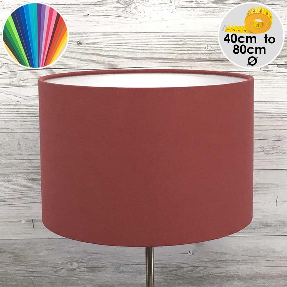 Extra Large Berry Drum Floor Lamp Shade