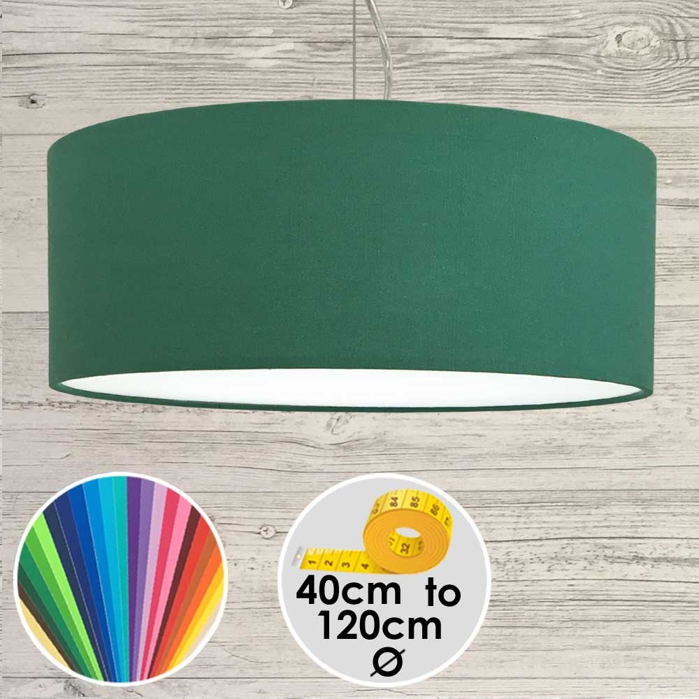 Extra Large Green Pendant Lamp Shade