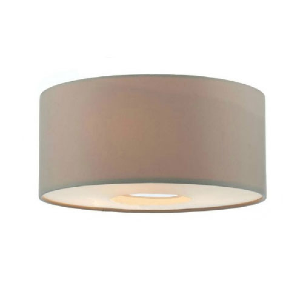 Fitzgerald large drum pendant with chain imperial lighting for Wide drum lamp shade