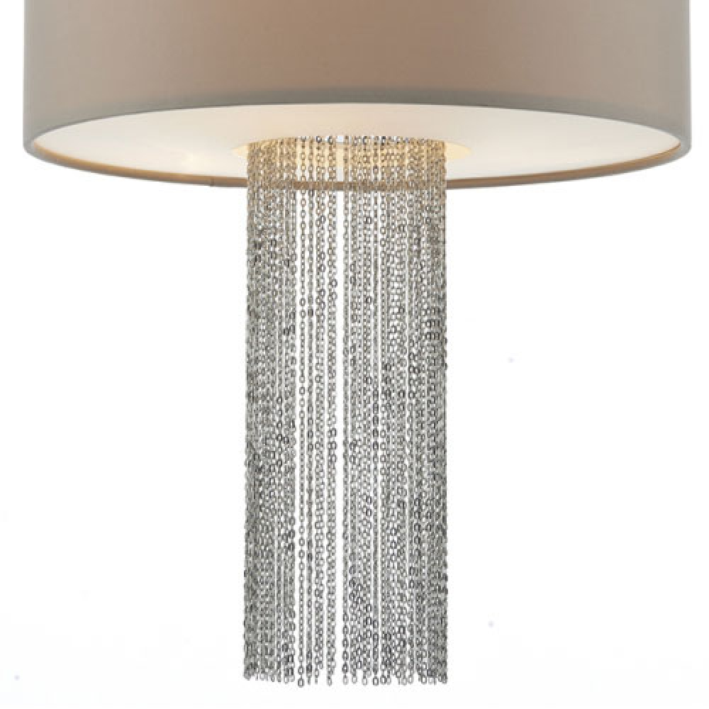 Fitzgerald Large Drum Pendant With Chain Imperial Lighting