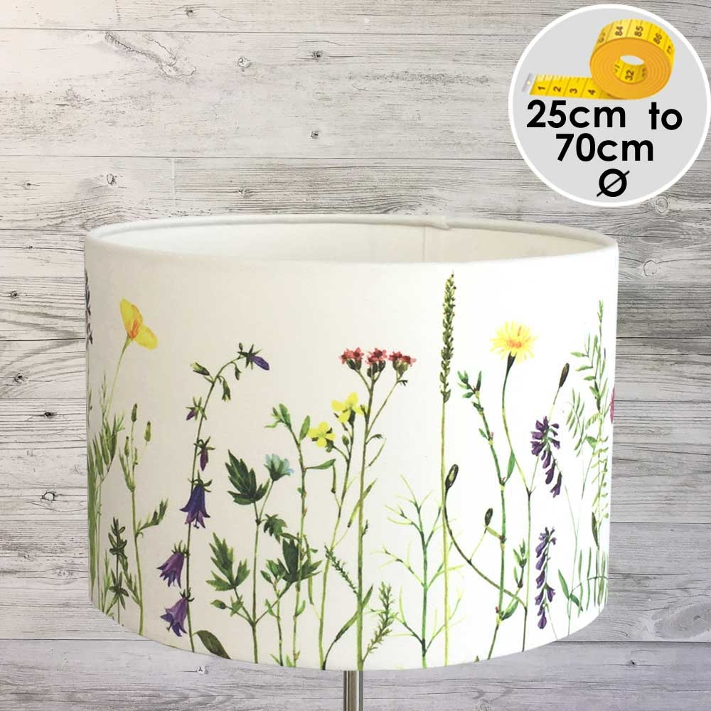 MEADOW FLORAL  PRINTED LIGHT SHADE