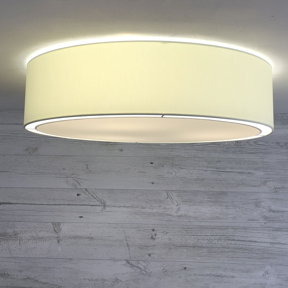 Flush Drum Shade Cream