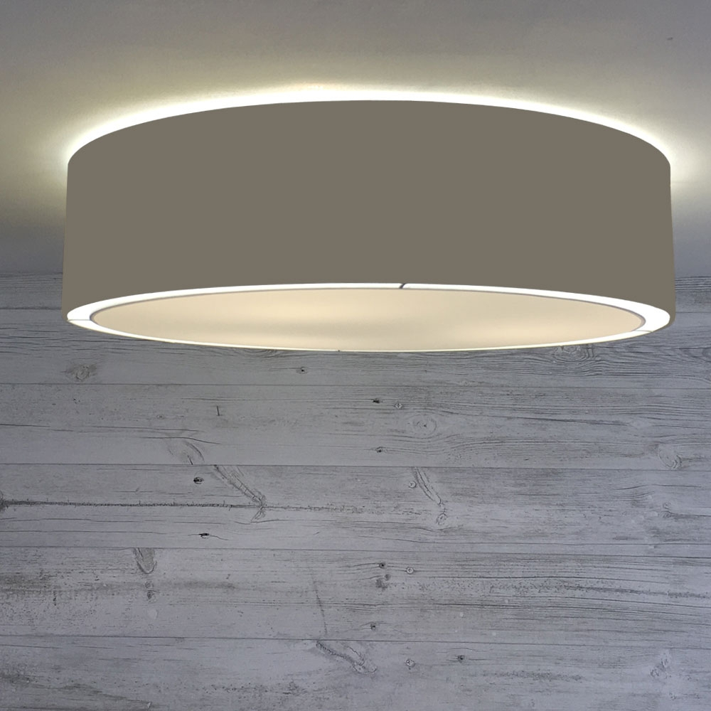 Flush Drum Shade Granite
